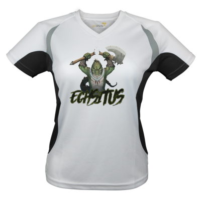 Motiv: Laufshirt Lady Running T - Let's Plays - Echsitus