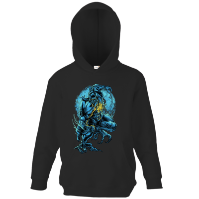 Motiv: Kids Hooded Sweat - angry