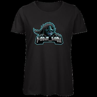 Motiv: Organic Lady T-Shirt - Wolf
