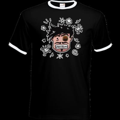 Motiv: T-Shirt Ringer - Teilzeit-Salzig