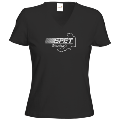 Motiv: T-Shirt Damen V-Neck Classic - SPET Racing