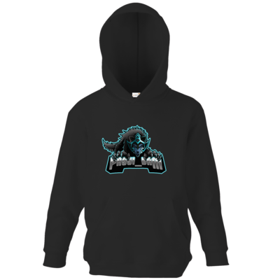 Motiv: Kids Hooded Sweat - Wolf