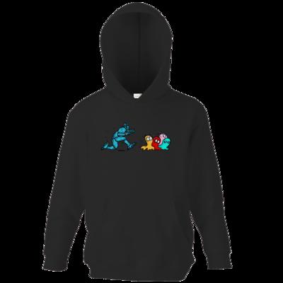 Motiv: Kids Hooded Sweat - Pac-Man