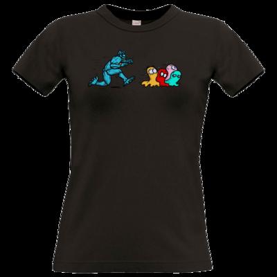 Motiv: T-Shirt Damen Premium FAIR WEAR - Pac-Man