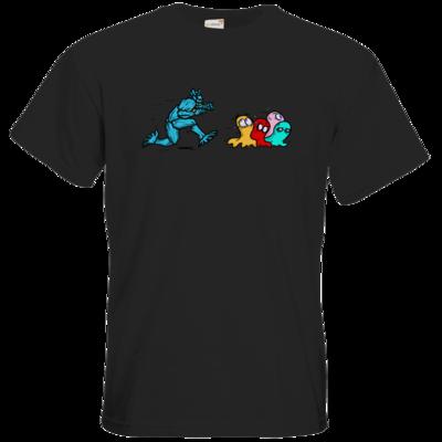 Motiv: T-Shirt Premium FAIR WEAR - Pac-Man