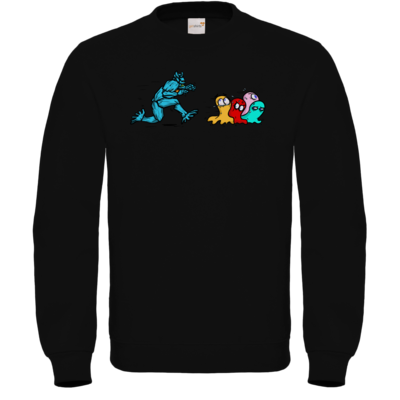 Motiv: Sweatshirt FAIR WEAR - Pac-Man