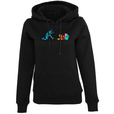 Motiv: Womens Heavy Hoody - Pac-Man