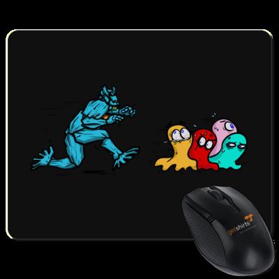 Motiv: Mousepad Textil - Pac-Man