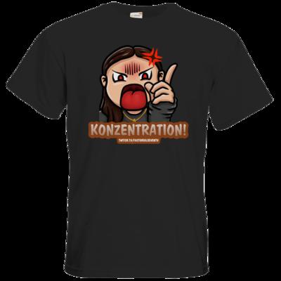 Motiv: T-Shirt Premium FAIR WEAR - Konzentration!