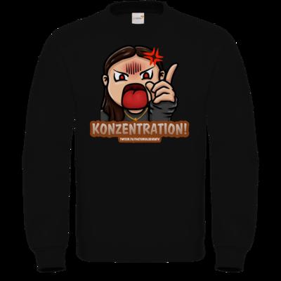 Motiv: Sweatshirt FAIR WEAR - Konzentration!