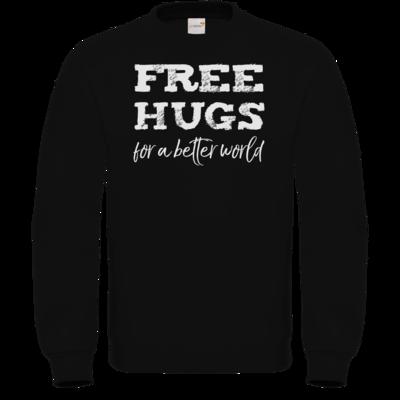 Motiv: Sweatshirt FAIR WEAR - Free Hugs #01