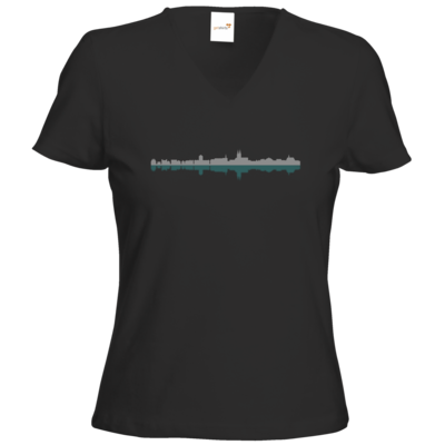 Motiv: T-Shirts Damen V-Neck FAIR WEAR - Boppard #02