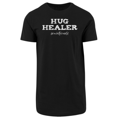 Motiv: Shaped Long Tee - Hug Healer #01