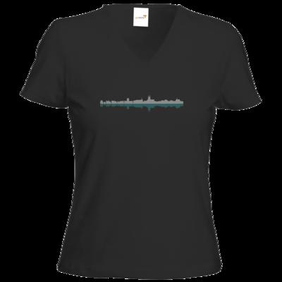 Motiv: T-Shirt Damen V-Neck Classic - Boppard #02