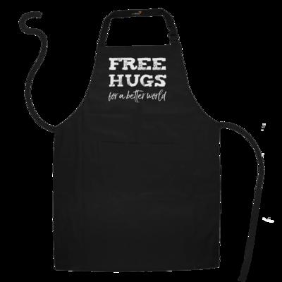 Motiv: Schürze - Free Hugs #01