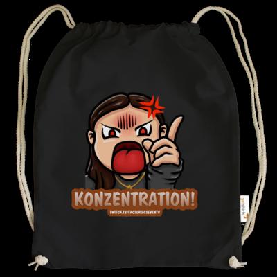 Motiv: Cotton Gymsac - Konzentration!