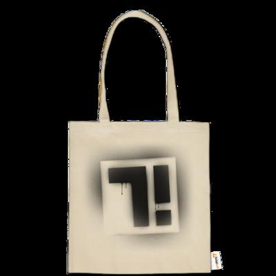 Motiv: Baumwolltasche - Factorial Seven Logo