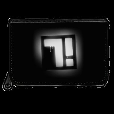 Motiv: Geldboerse - Factorial Seven Logo