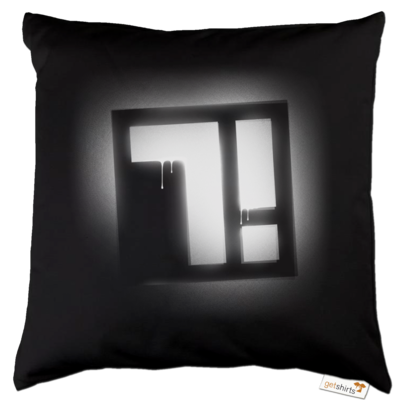 Motiv: Kissen Baumwolle - Factorial Seven Logo