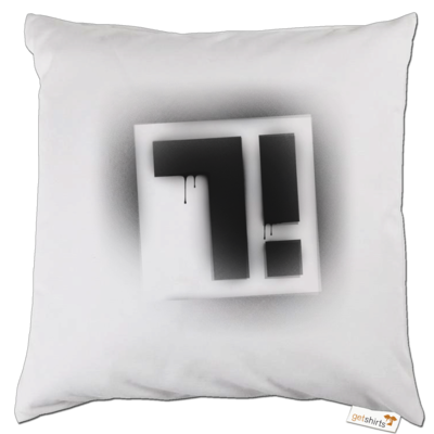 Motiv: Kissen - Factorial Seven Logo