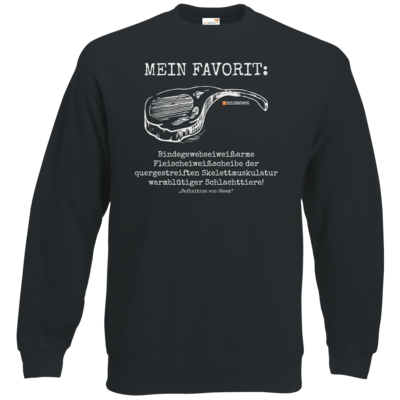 Motiv: Sweatshirt Classic - Definition Steak