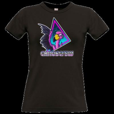 Motiv: T-Shirt Damen Premium FAIR WEAR - Cha0sCrew