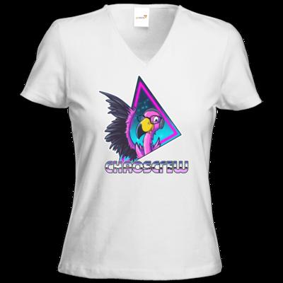 Motiv: T-Shirts Damen V-Neck FAIR WEAR - Cha0sCrew