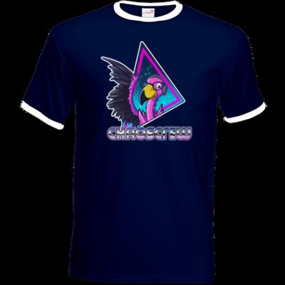 Motiv: T-Shirt Ringer - Cha0sCrew