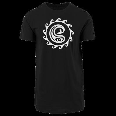 Motiv: Shaped Long Tee - Götter Symbol - Swafnir