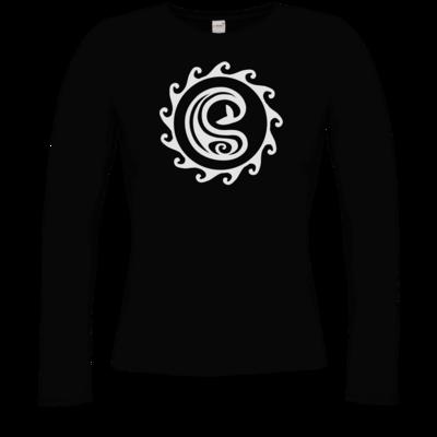 Motiv: Longsleeve Damen Organic - Götter Symbol - Swafnir