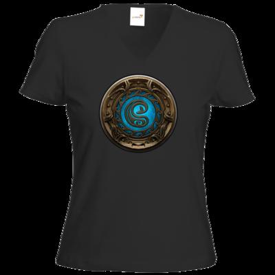 Motiv: T-Shirt Damen V-Neck Classic - Götter Siegel - Swafnir
