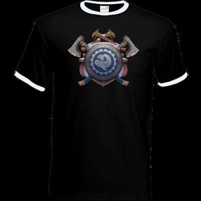 Motiv: T-Shirt Ringer - Wappen - Thorwal