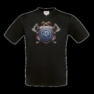 Motiv: T-Shirt V-Neck FAIR WEAR - Wappen - Thorwal