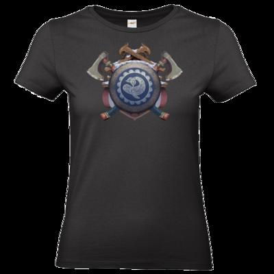 Motiv: T-Shirt Damen Premium FAIR WEAR - Wappen - Thorwal