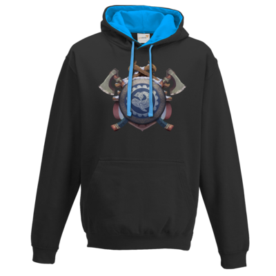 Motiv: Two-Tone Hoodie - Wappen - Thorwal