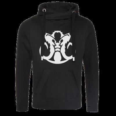 Motiv: Cross Neck Hoodie - Götter Symbol - Natûru-Gon