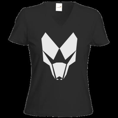 Motiv: T-Shirt Damen V-Neck Classic - BuildMySystem Logo