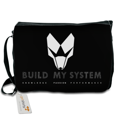 Motiv: Schultertasche - BUILD MY SYSTEM