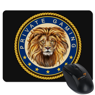 Motiv: Mousepad Textil - PrivateGaming