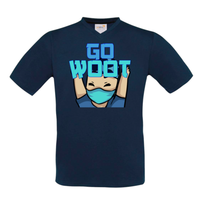 Motiv: T-Shirt V-Neck FAIR WEAR - GoWooT