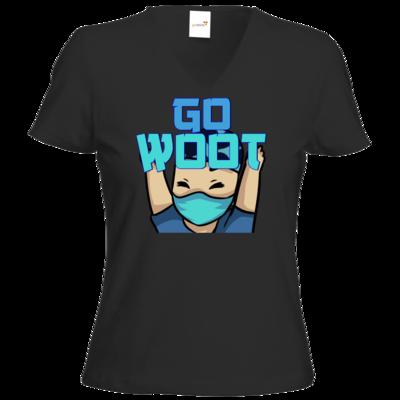 Motiv: T-Shirt Damen V-Neck Classic - GoWooT