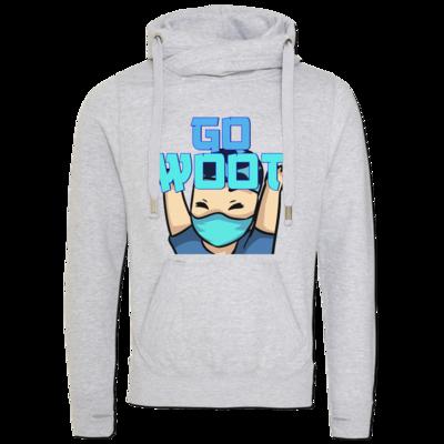 Motiv: Cross Neck Hoodie - GoWooT