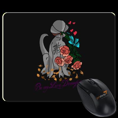 Motiv: Mousepad Textil - Love Demogogon