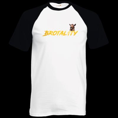 Motiv: TShirt Baseball - Brotal1ty Gold
