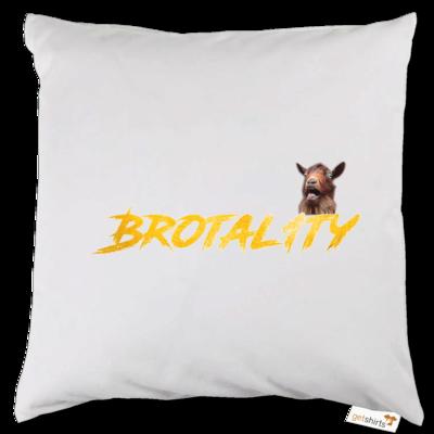 Motiv: Kissen - Brotal1ty Gold