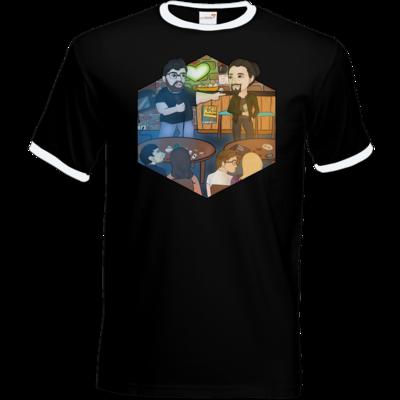Motiv: T-Shirt Ringer - Spoppin Live Tour