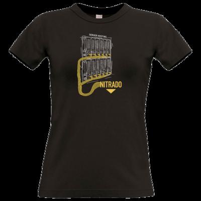 Motiv: T-Shirt Damen Premium FAIR WEAR - Nitrado