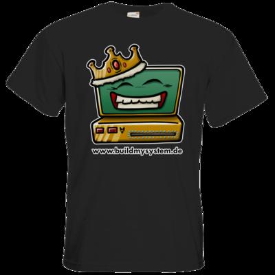 Motiv: T-Shirt Premium FAIR WEAR - Build My System King