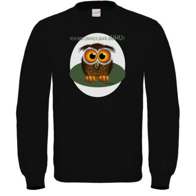 Motiv: Sweatshirt FAIR WEAR - Unheilbar gUHUt