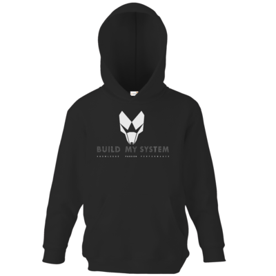 Motiv: Kids Hooded Sweat - BUILD MY SYSTEM